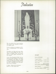 Page 8, 1954 Edition, St Ursula Academy - Crest Yearbook (Cincinnati, OH) online yearbook collection