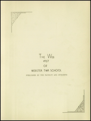 Page 5, 1937 Edition, Webster Township High School - Web Yearbook (Scotch Ridge, OH) online yearbook collection