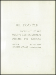 Page 7, 1950 Edition, Webster Township High School - Web Yearbook (Scotch Ridge, OH) online yearbook collection