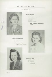 Page 10, 1946 Edition, Fairfield High School - Comet Yearbook (Columbiana, OH) online yearbook collection