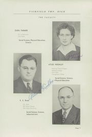 Page 11, 1946 Edition, Fairfield High School - Comet Yearbook (Columbiana, OH) online yearbook collection
