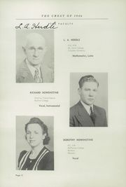 Page 12, 1946 Edition, Fairfield High School - Comet Yearbook (Columbiana, OH) online yearbook collection