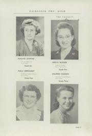 Page 13, 1946 Edition, Fairfield High School - Comet Yearbook (Columbiana, OH) online yearbook collection