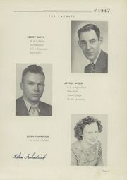 Page 13, 1947 Edition, Fairfield High School - Comet Yearbook (Columbiana, OH) online yearbook collection