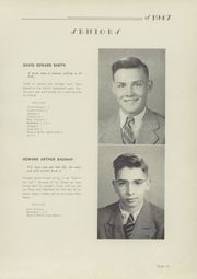 Page 17, 1947 Edition, Fairfield High School - Comet Yearbook (Columbiana, OH) online yearbook collection