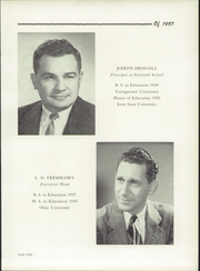 Page 13, 1957 Edition, Fairfield High School - Comet Yearbook (Columbiana, OH) online yearbook collection