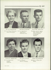 Page 15, 1957 Edition, Fairfield High School - Comet Yearbook (Columbiana, OH) online yearbook collection