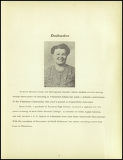 Page 7, 1950 Edition, Whetstone Township High School - Whetstonian Yearbook (Bucyrus, OH) online yearbook collection