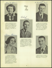Page 12, 1951 Edition, Whetstone Township High School - Whetstonian Yearbook (Bucyrus, OH) online yearbook collection