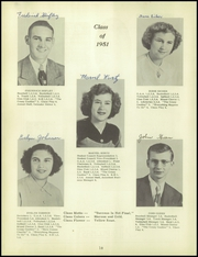 Page 14, 1951 Edition, Whetstone Township High School - Whetstonian Yearbook (Bucyrus, OH) online yearbook collection