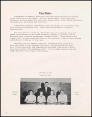 Page 12, 1956 Edition, Mark Center High School - Eaglette Yearbook (Mark Center, OH) online yearbook collection