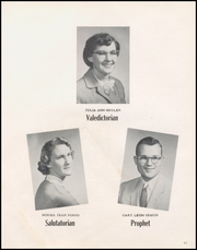 Page 15, 1956 Edition, Mark Center High School - Eaglette Yearbook (Mark Center, OH) online yearbook collection