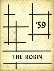 1959 Edition, North Robinson High School - Robin Yearbook (North Robinson, OH)