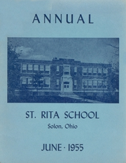 Page 1, 1955 Edition, St Rita School - Annual Yearbook (Solon, OH) online yearbook collection