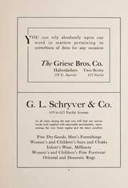 High School of Commerce - Annual Yearbook (Cleveland, OH) online yearbook collection, 1910 Edition, Page 151