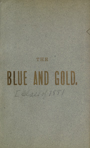 Page 5, 1881 Edition, University of California Berkeley - Blue and Gold Yearbook (Berkeley, CA) online yearbook collection