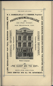 Page 197, 1884 Edition, University of California Berkeley - Blue and Gold Yearbook (Berkeley, CA) online yearbook collection