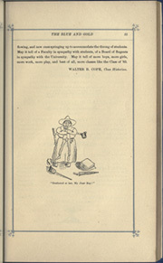 Page 35, 1884 Edition, University of California Berkeley - Blue and Gold Yearbook (Berkeley, CA) online yearbook collection