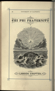 Page 78, 1884 Edition, University of California Berkeley - Blue and Gold Yearbook (Berkeley, CA) online yearbook collection