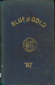 1887 Edition, University of California Berkeley - Blue and Gold Yearbook (Berkeley, CA)
