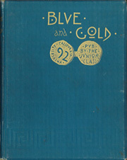 1892 Edition, University of California Berkeley - Blue and Gold Yearbook (Berkeley, CA)