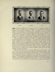 Page 204, 1912 Edition, University of California Berkeley - Blue and Gold Yearbook (Berkeley, CA) online yearbook collection