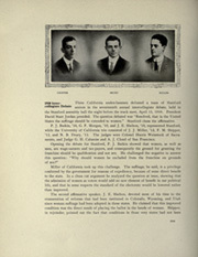 Page 206, 1912 Edition, University of California Berkeley - Blue and Gold Yearbook (Berkeley, CA) online yearbook collection