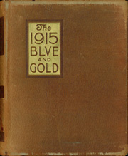 1915 Edition, University of California Berkeley - Blue and Gold Yearbook (Berkeley, CA)