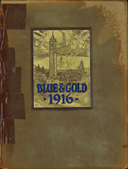 1916 Edition, University of California Berkeley - Blue and Gold Yearbook (Berkeley, CA)
