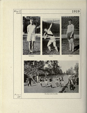 Page 254, 1919 Edition, University of California Berkeley - Blue and Gold Yearbook (Berkeley, CA) online yearbook collection