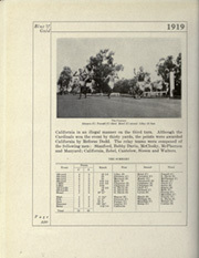 Page 256, 1919 Edition, University of California Berkeley - Blue and Gold Yearbook (Berkeley, CA) online yearbook collection