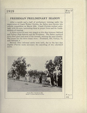 Page 259, 1919 Edition, University of California Berkeley - Blue and Gold Yearbook (Berkeley, CA) online yearbook collection