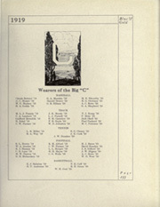 Page 269, 1919 Edition, University of California Berkeley - Blue and Gold Yearbook (Berkeley, CA) online yearbook collection