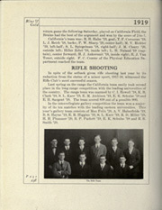 Page 274, 1919 Edition, University of California Berkeley - Blue and Gold Yearbook (Berkeley, CA) online yearbook collection