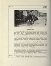 Page 280, 1919 Edition, University of California Berkeley - Blue and Gold Yearbook (Berkeley, CA) online yearbook collection