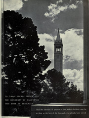 Page 11, 1937 Edition, University of California Berkeley - Blue and Gold Yearbook (Berkeley, CA) online yearbook collection