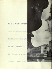 Page 8, 1937 Edition, University of California Berkeley - Blue and Gold Yearbook (Berkeley, CA) online yearbook collection