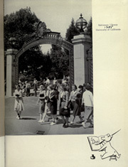 Page 7, 1939 Edition, University of California Berkeley - Blue and Gold Yearbook (Berkeley, CA) online yearbook collection
