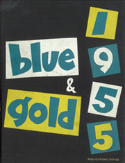 1955 Edition, University of California Berkeley - Blue and Gold Yearbook (Berkeley, CA)