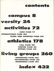 Page 11, 1957 Edition, University of California Berkeley - Blue and Gold Yearbook (Berkeley, CA) online yearbook collection