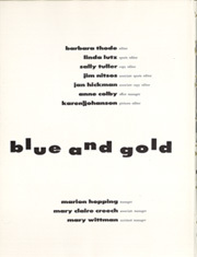 Page 6, 1957 Edition, University of California Berkeley - Blue and Gold Yearbook (Berkeley, CA) online yearbook collection