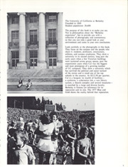 Page 7, 1977 Edition, University of California Berkeley - Blue and Gold Yearbook (Berkeley, CA) online yearbook collection