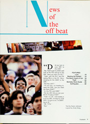 Page 13, 1990 Edition, University of California Berkeley - Blue and Gold Yearbook (Berkeley, CA) online yearbook collection
