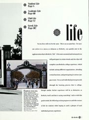 Page 11, 1995 Edition, University of California Berkeley - Blue and Gold Yearbook (Berkeley, CA) online yearbook collection