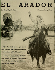 Page 5, 1949 Edition, Gardena High School - El Arador Yearbook (Gardena, CA) online yearbook collection