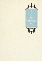 Page 5, 1929 Edition, Agnes Scott College - Silhouette Yearbook (Decatur, GA) online yearbook collection