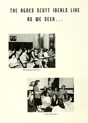 Page 10, 1948 Edition, Agnes Scott College - Silhouette Yearbook (Decatur, GA) online yearbook collection