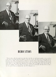 Page 16, 1957 Edition, Agnes Scott College - Silhouette Yearbook (Decatur, GA) online yearbook collection