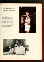 Page 11, 1962 Edition, Agnes Scott College - Silhouette Yearbook (Decatur, GA) online yearbook collection