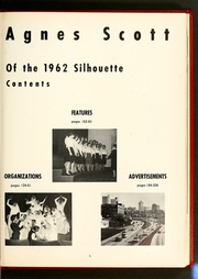 Page 9, 1962 Edition, Agnes Scott College - Silhouette Yearbook (Decatur, GA) online yearbook collection